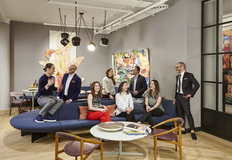Fuigo members (from left)  Alberto Villalobos , Nathaniel Brooks,  Kellie Sirignano ,  Pamela Katch ,  Mercedes Desio ,  Andrew Law ,  Steph Katch  and  Franklin Salasky .