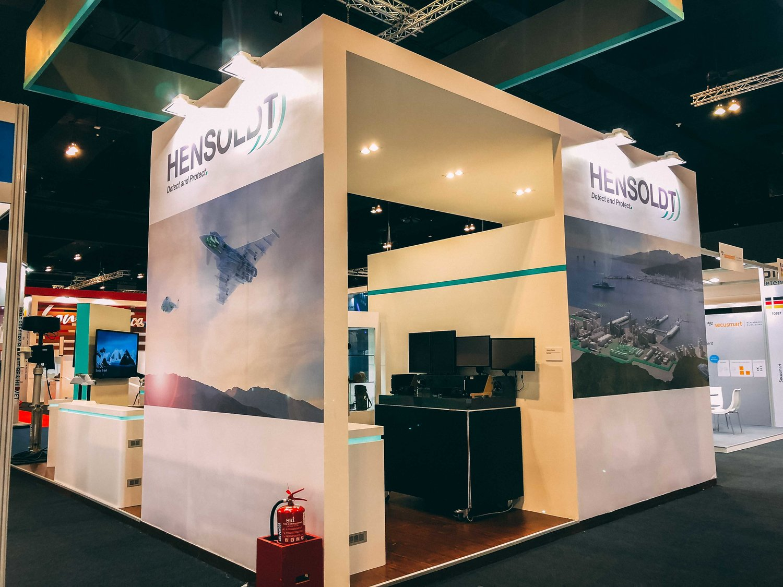 Exhibition Stand Contractor : Hensoldt @ dsa malaysia kuala lumpur bright future solution