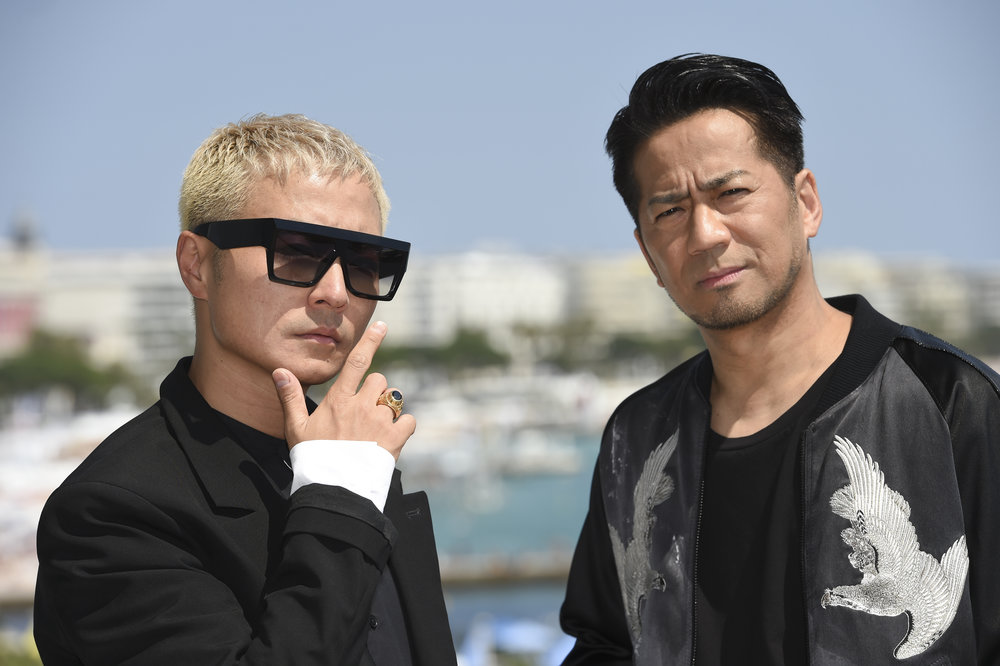 Verbal (left) and Hiro of LDH
