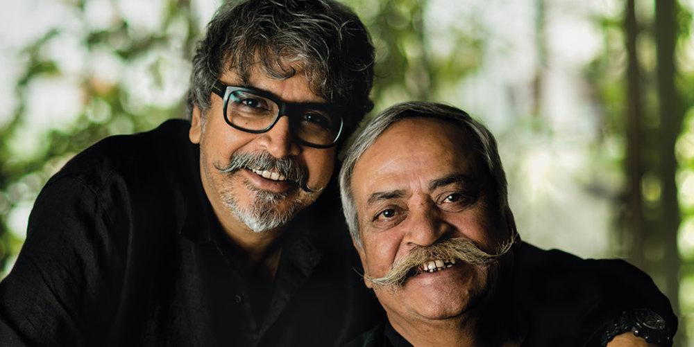 Prasoon and Piyush Pandey