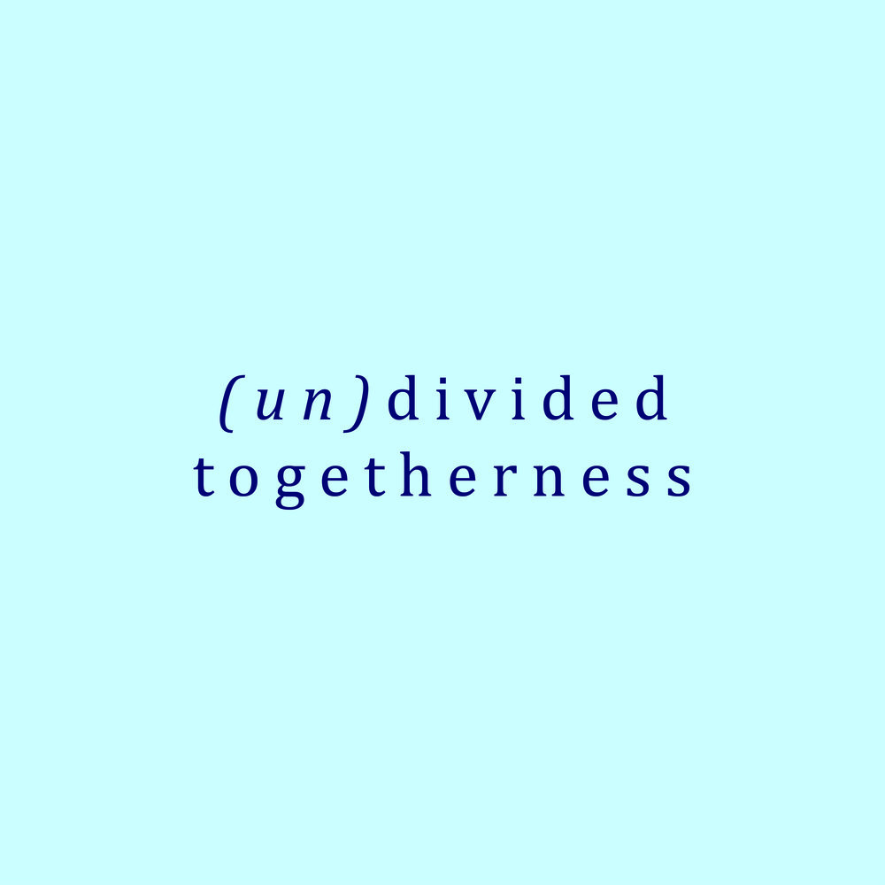(Un)diveded togetherness