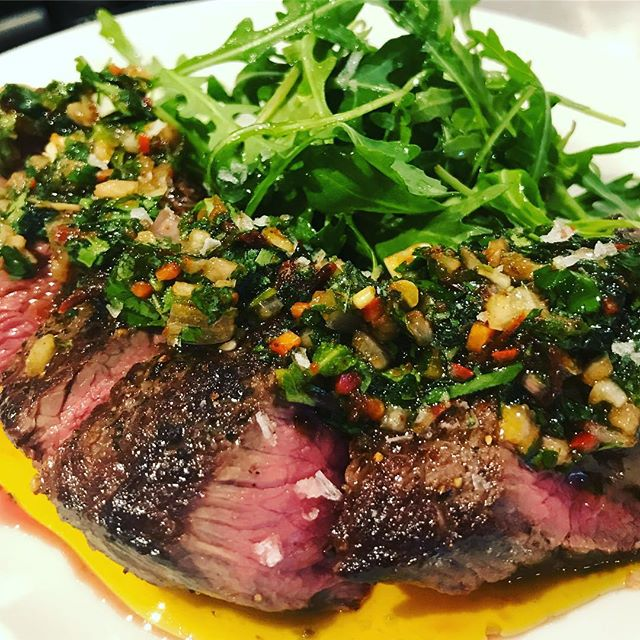 Aged Rump with chimichurri #fridaynight  #whitstable #tapasbar