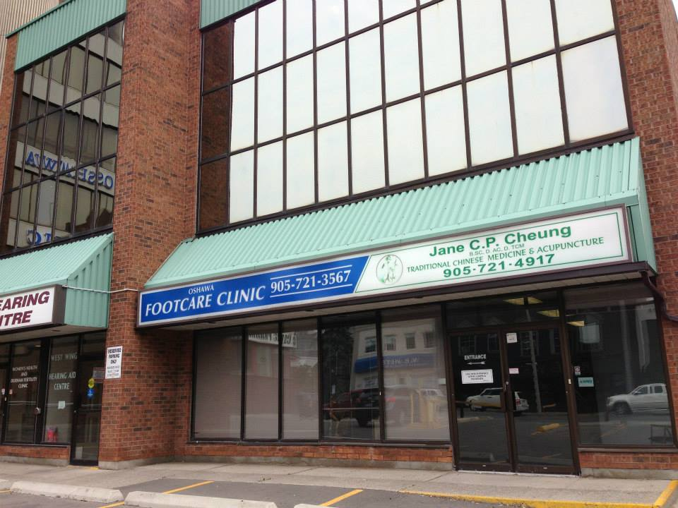 Oshawa Clinic, 1st Floor, West Wing  117 King St. East  Oshawa, ON L1H 1B9  (corner of King and Mary)