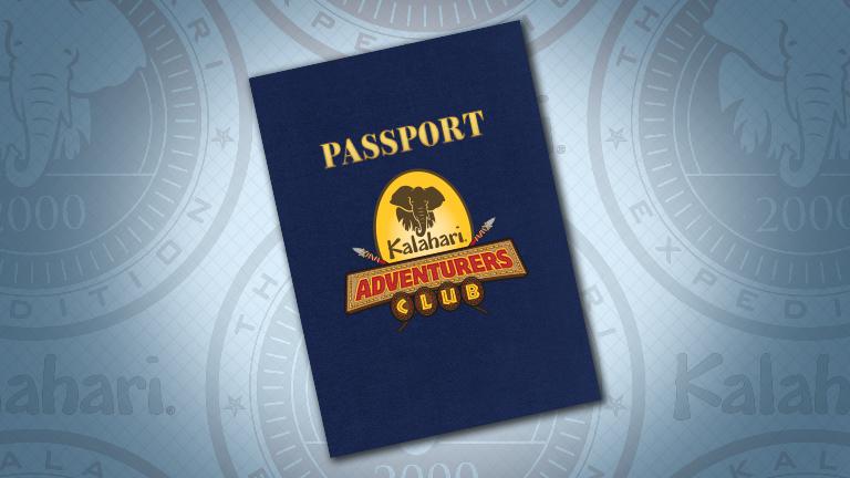 - PASSPORT TO ADVENTURE