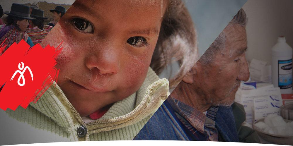 Juntos para ayudar a los más<br> necesitados en el Perú.
