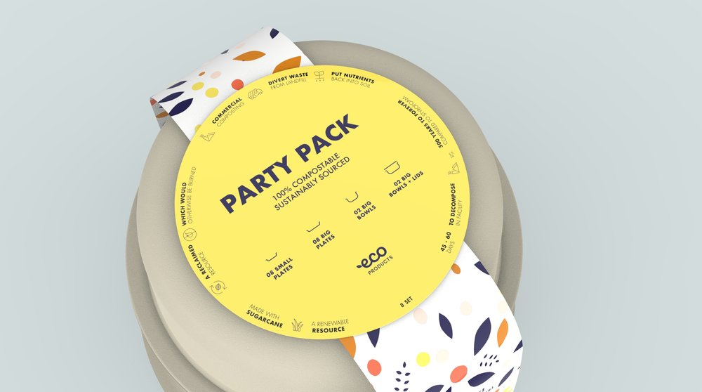 A Party Pack was added for the retail market for when large quantities aren't needed.
