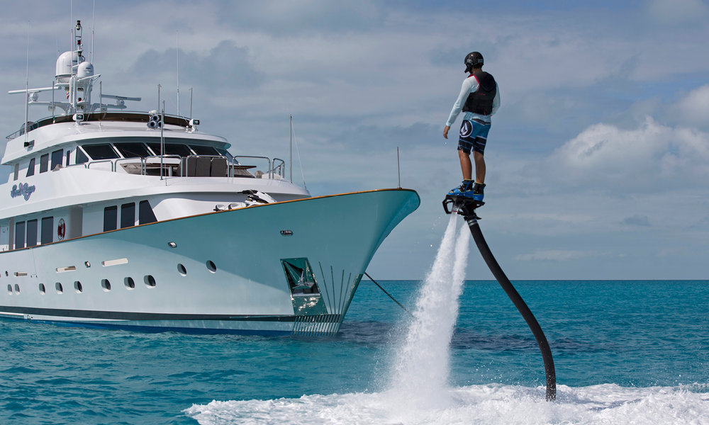 """The Flyboard® is an amazing experience for beginners and experienced """"flyers"""" alike."""