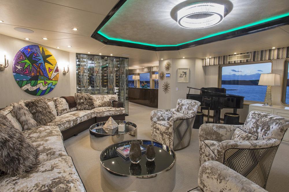 sweet-escape-art-pamela-dale-champagne-shoes-yacht-chalet