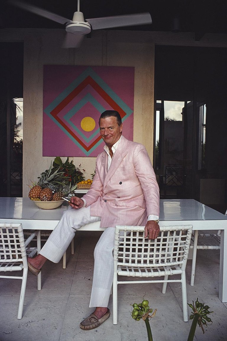 David Hicks Slim Aarons Savannah ELEUTHERA