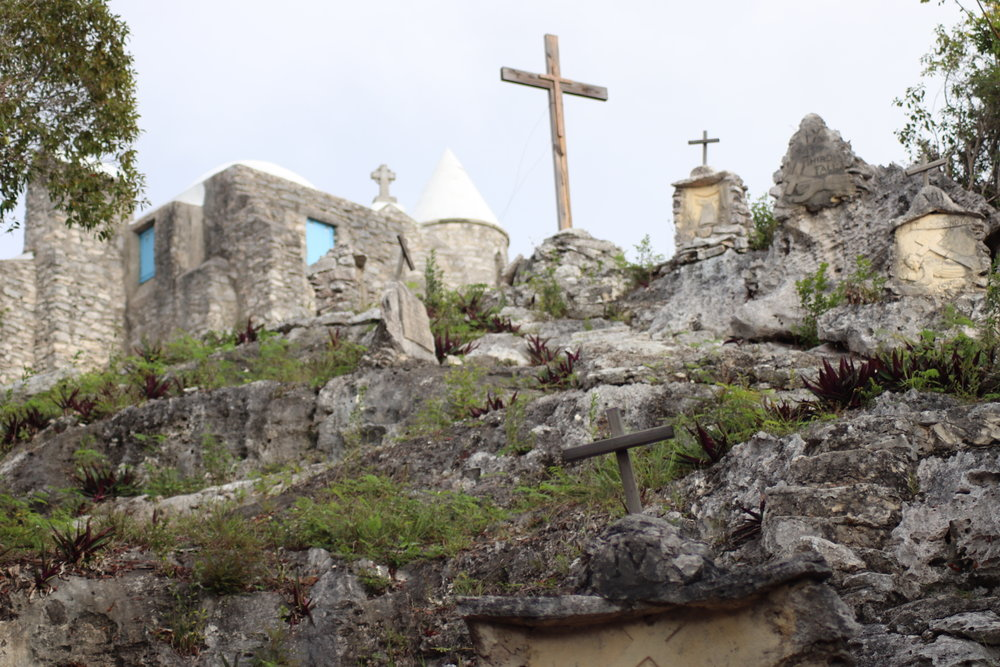 mount-alvernia-father-jerome-medieval-francis-assisi-cat-island-authur-catt-charter-yacht-sweet-escape-southern-bahamas-itinerary