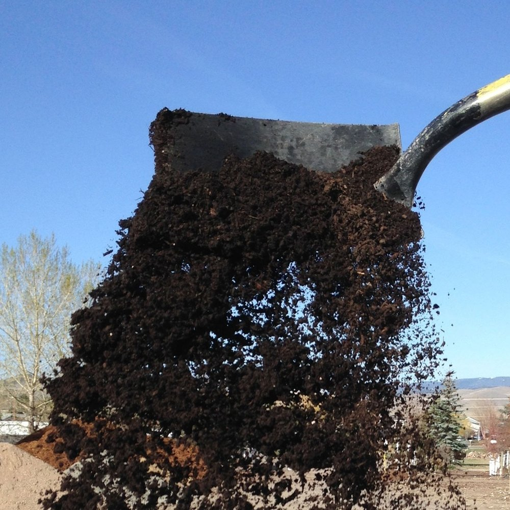 EKO Compost  Another great Montana product; used to amend planting beds as well as top dress lawns.