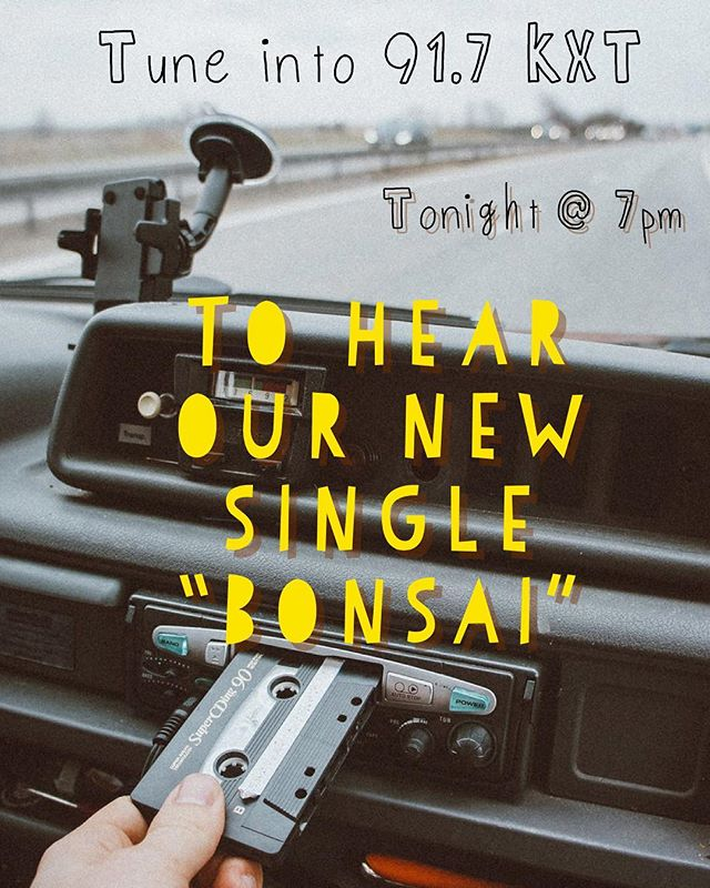 DFW friends tune in tonight to hear us make some radio waves🌊