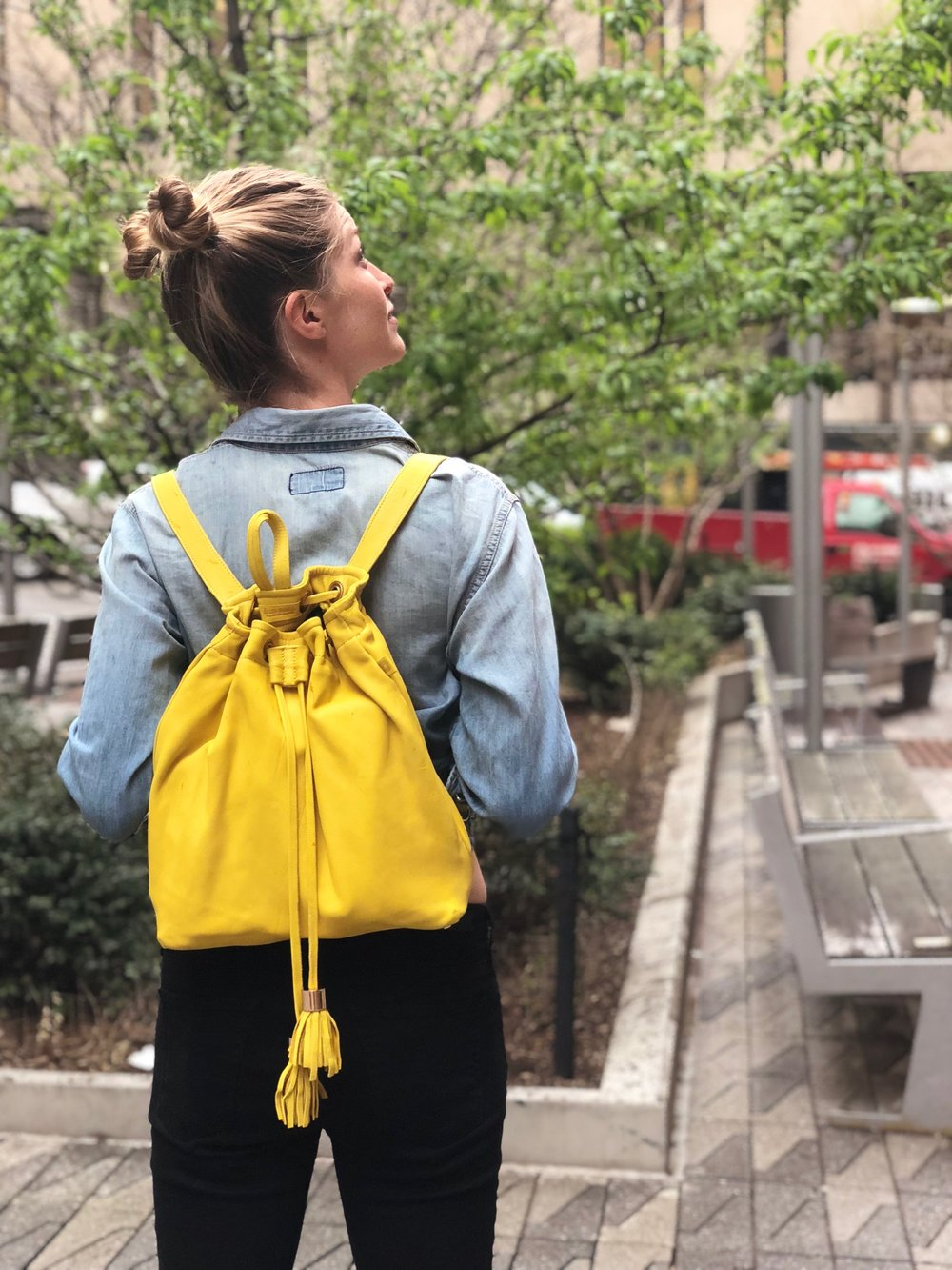 Use my code HEIDE15 to get your Michel Backpack at 15% off - LIMITED QUANTITY AVAILABLE FOR PREORDER, SHIPPING MAY 7, 2018!