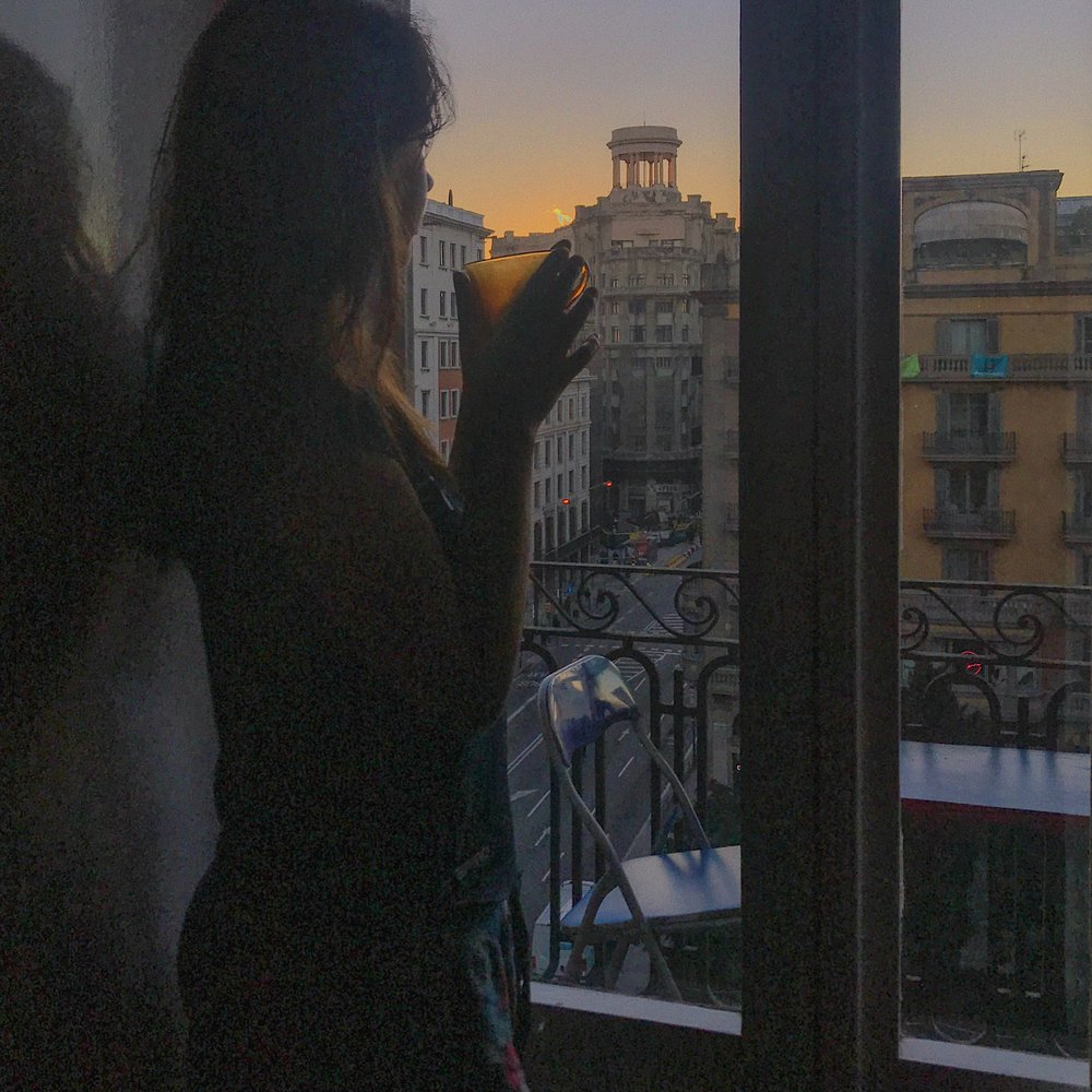 Waking up in the Gothic Quarter