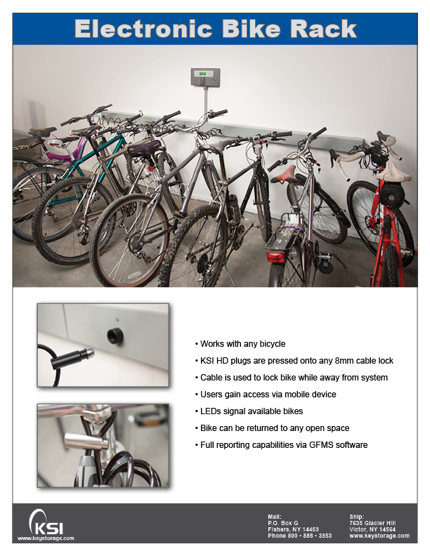 KSI Electronic Bike Rack PDF