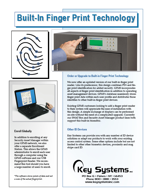 Finger Print User Identification PDF