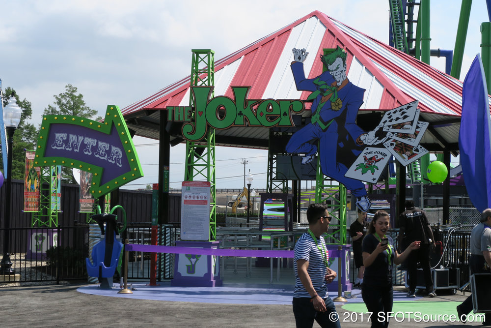 The main entrance to The Joker.