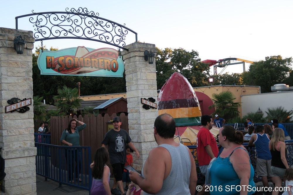 The entrance to El Sombrero.
