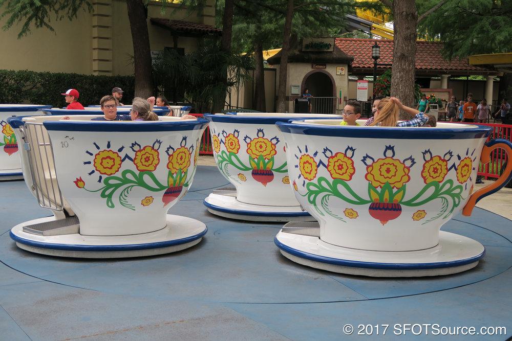 La Fiesta de las Tazas carries a Spanish theme.