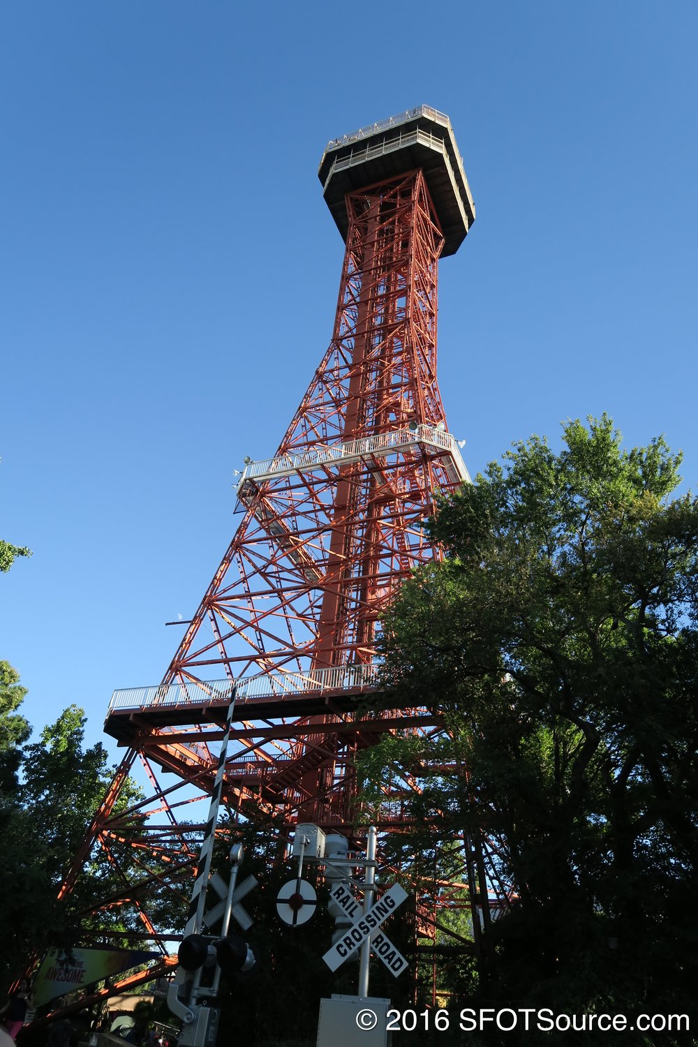 Oil Derrick is located in the Tower section.