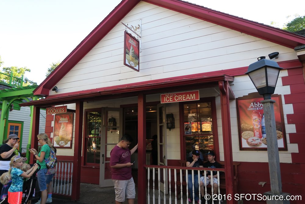 Miss Abby's is located in the park's Texas section.