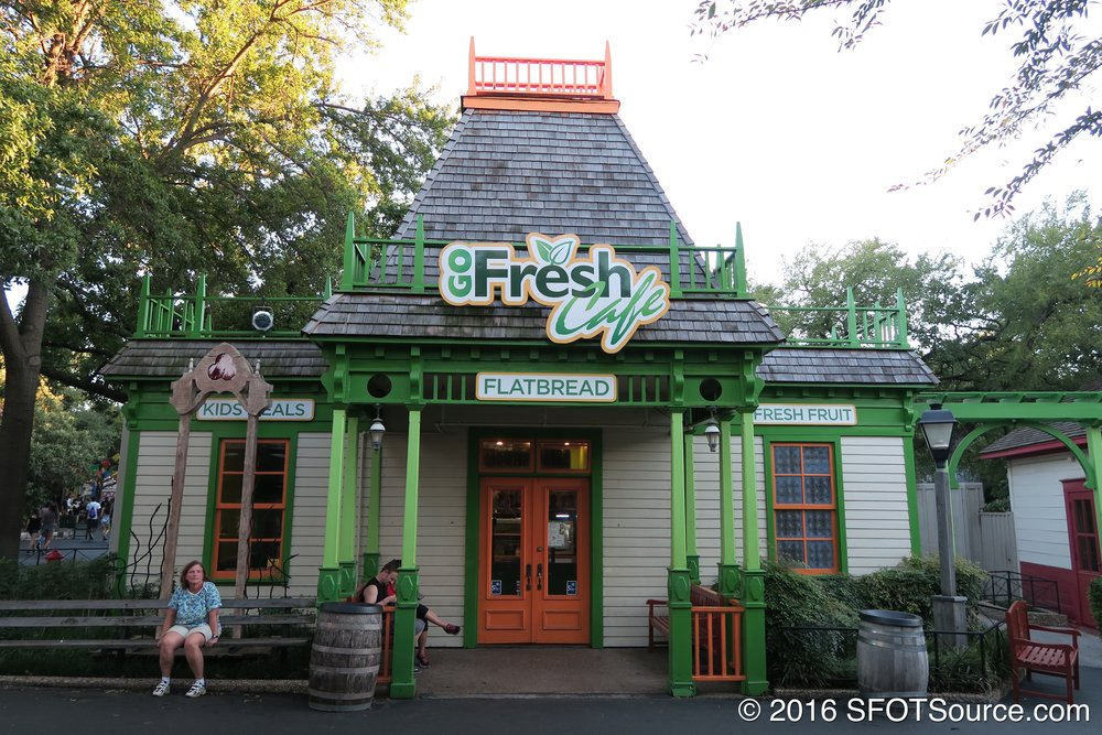 Prior to being Texas Taco Bar, this restaurant was known as Go Fresh Cafe.