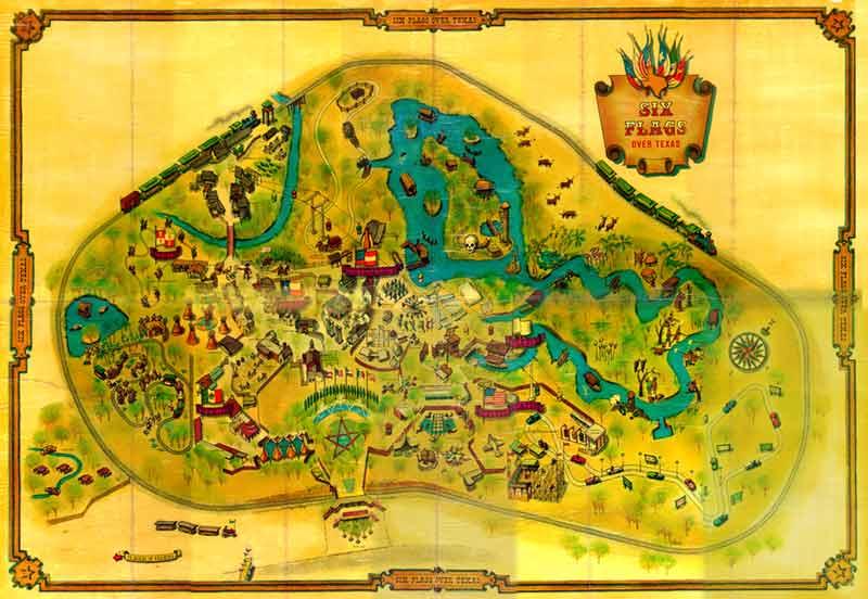 1961 Park Map