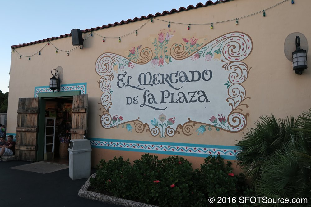 The exterior of El Mercado.