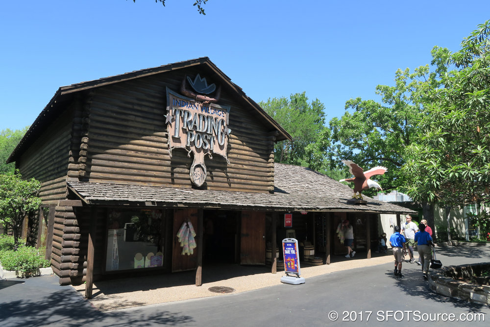 Trading Post is an indoor shop.