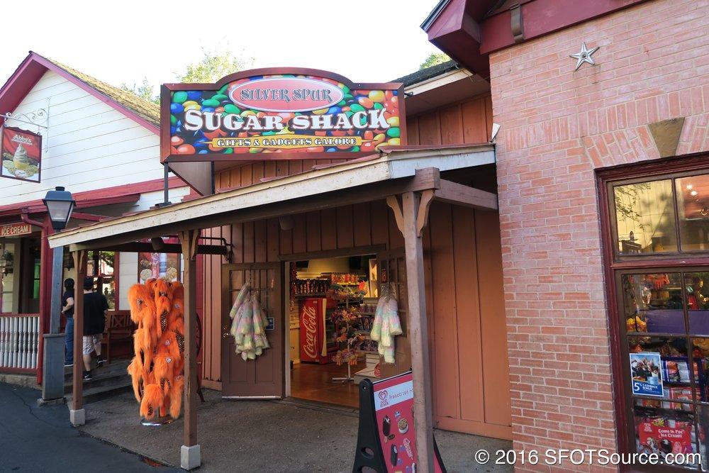 The main entrance to Sugar Shack.