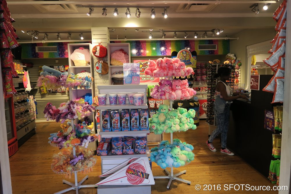 Guests can find candy and other items here.
