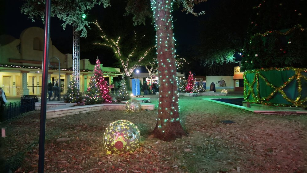 Christmas Tree Lighting - Join Santa Claus in the Silver Star Mall area near the entrance of the park each evening as he leads the lighting of the Tree of Trees. Ends 12/23