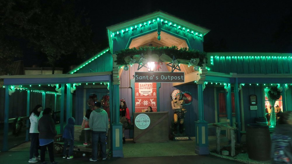 Santa's Outpost - Stop by Santa's Outpost to have your own personal meeting with Santa Claus himself. Also explore Santa's workshop and work on