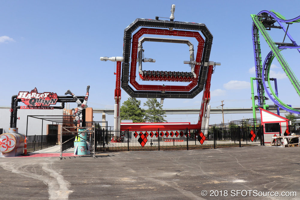 Crews testing Harley Quinn Spinsanity