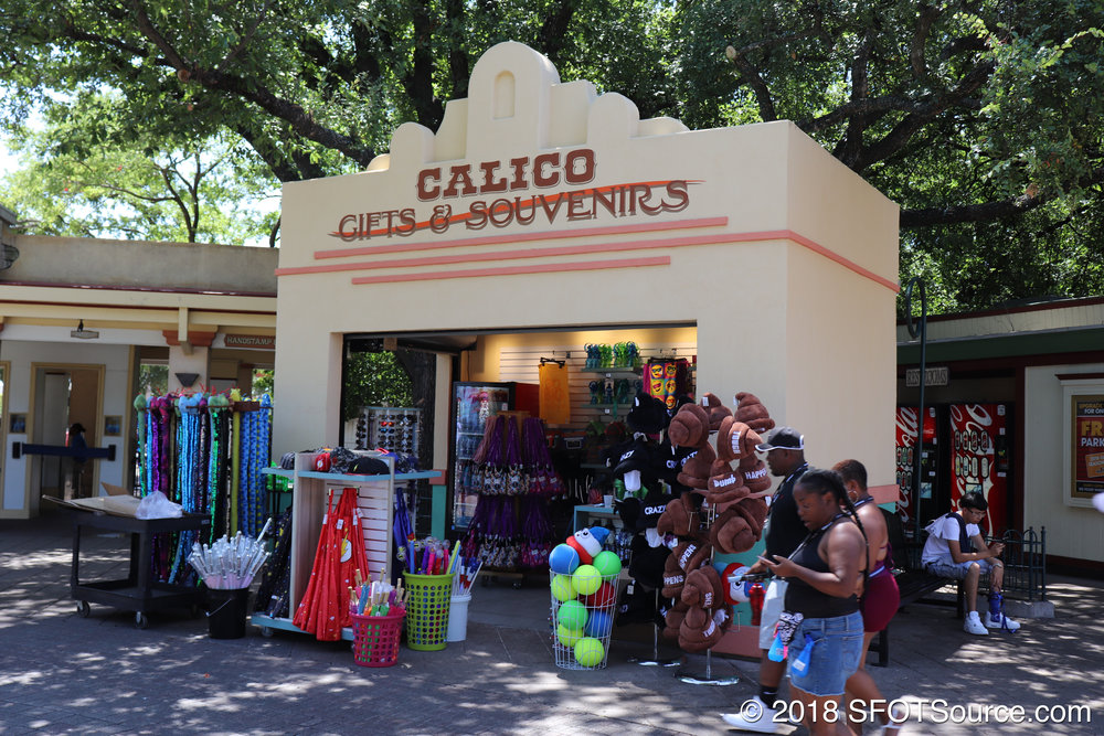 Calico is a small outdoor shop.