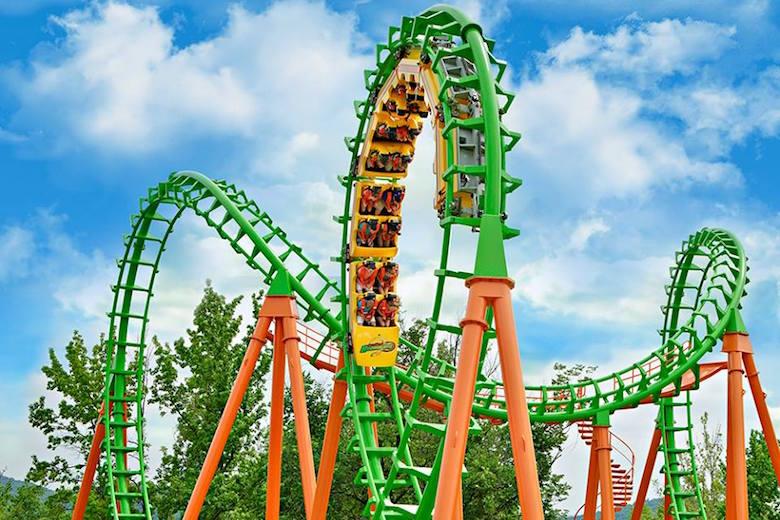 Boomerang at Six Flags St. Louis.