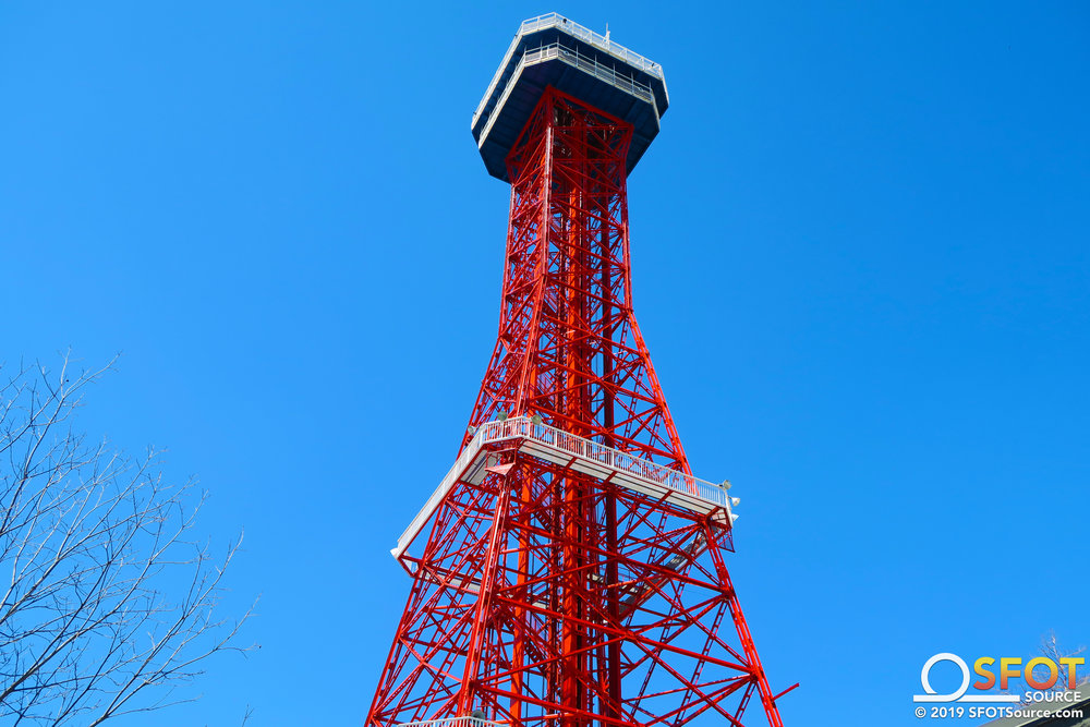 Oil Derrick was repainted during the 2018 season.