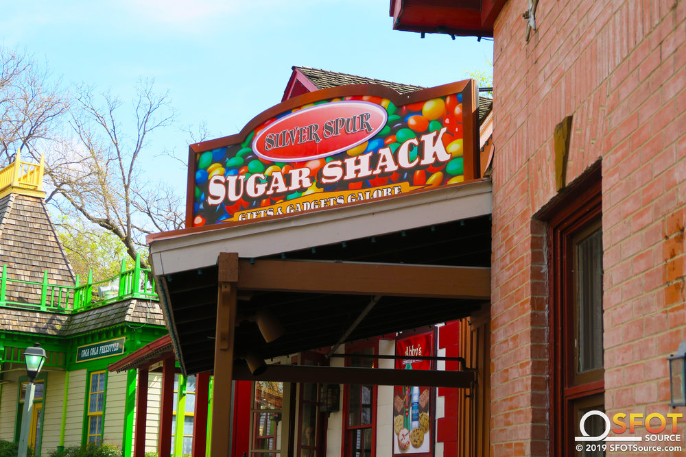 Silver Spur Sugar Shack is located in the park's Texas section.