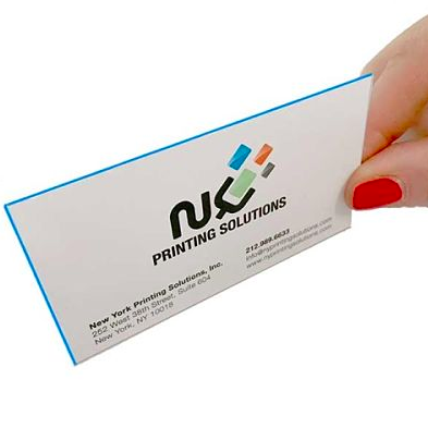 Sturdy and colorful — as good in business cards as it is in personalities!