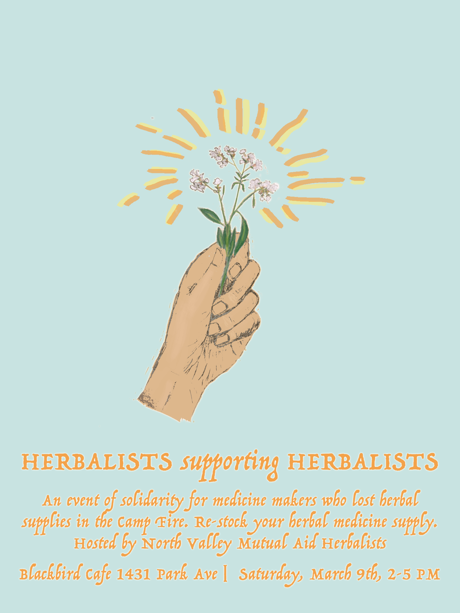 Herbalists Supporting Herbalists - Camp Fire Mutual Aid
