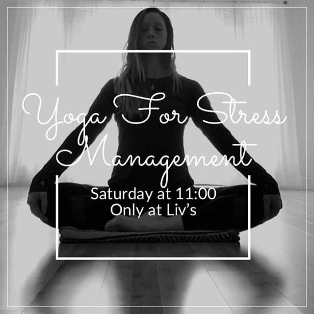 2019: NEW CLASS ALERT 🕉☀️🙏🏼 While it's impossible to make stress disappear entirely, you can learn to manage it successfully. Yoga for Stress Management will introduce you to techniques that can help you find calm and peace, including breath (pranayama), movement (asana), meditation, and yoga nidra (yogic sleep) techniques that can help you heal.  Join Stephanie this Saturday and every Saturday at 11:00am
