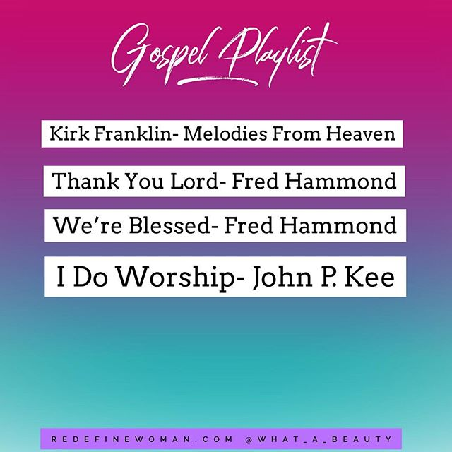 Need some extra encouragement or inspiration? @what_a_beauty shares her gospel favorites on the blog along with an entire playlist.  #blog #blogger #gospelplaylist #playlist #applemusic #itunes #youtube #gospel #encouragement #faith #inspiration