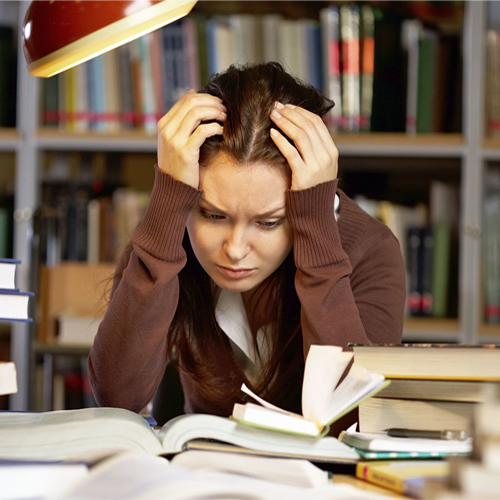 Teenagers and Exam Pressures