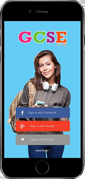GCSE Apple iPhone Smartphone App