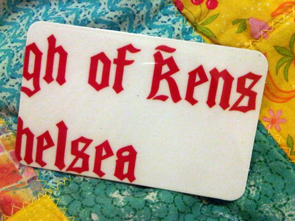 Kensington Library Card