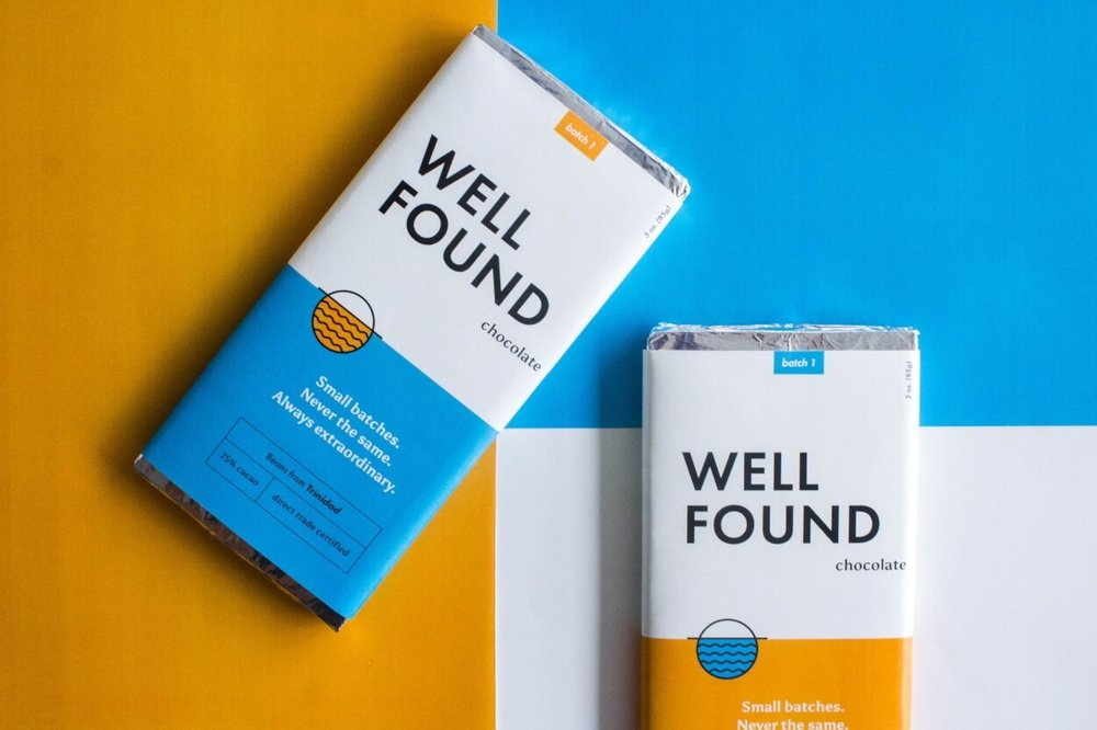 featured project - Sneak a peek at our design process below with Wellfound Chocolate, a small business based in Boston.