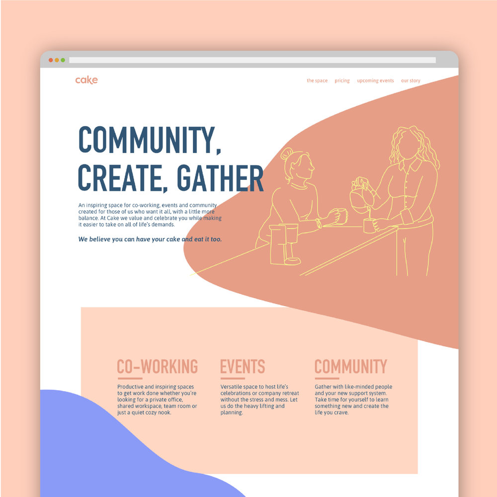 Custom Squarespace Website (Check out their live site  here !)