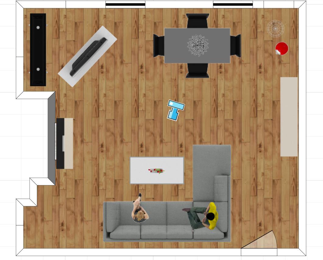 Living Room DIY: 3D Room Plan