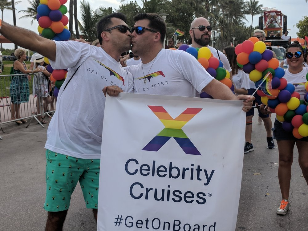 In a historic ceremony hosted on board Celebrity Equinox,Francisco Vargas and Benjamin Gray became the first same-sex couple ever to be legally married at sea on a major cruise line.