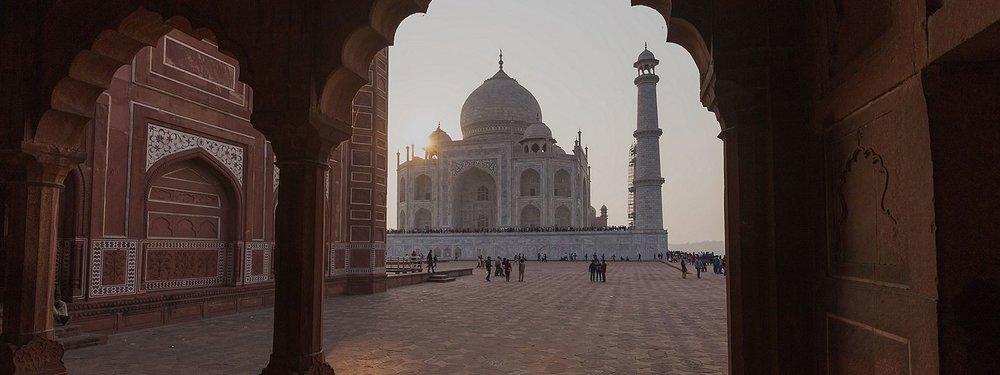 Destination: Taj Mahal in Agra, India